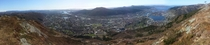 Panorama of Bergen Norway