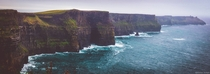 Panorama of Cliffs of Moher - Ireland
