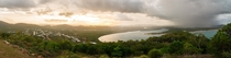 Panorama of Cooktown QLD Australia