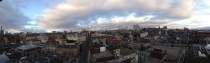 Panorama of Glasgow Scotland