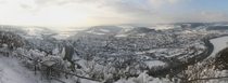 Panorama of Kahla Germany