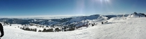 Panorama of Lake Tahoe from Squaw Valley