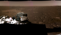 Panorama of Mars Taken by Perseverance Rover