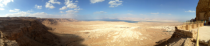 Panorama of Metzada Israel