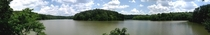 Panorama of Prettyboy Reservoir Maryland - my hometown swimming spot