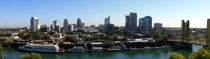 Panorama of Sacramento California