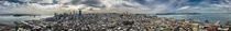 Panorama of San Francisco from Coit Tower