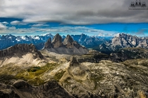 Panorama of the Sexten Dolomites