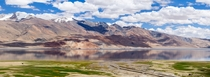 Panorama of Tso Moriri Lake in Ladakh India  By Oleg Ivanov  x-post rIncredibleIndia