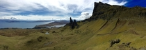 Panorama on Isle of Skye Scotland