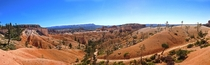 Panorama shot in Bryce Canyon National Park
