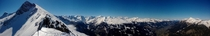 Panorama view on top of Graukogel Austria