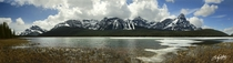 Panoramic A drive up Icefields Parkway after my sisters wedding last May Banff Alberta