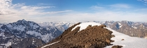 Panoramic from the Summit of Bold Peak last month Alaska
