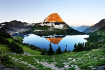 Panoramic of the Hidden Lake in Glacier National Park Photo by Chung Hu