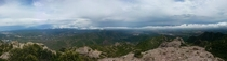 Panoramic picture I took at Montserrat Spain