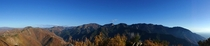 Panoramic view from Grandeur Peak Millcreek Canyon Utah  OC