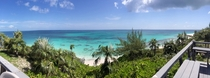 Panoramic view from where I am staying in Governors Harbor Eleuthera Bahamas -