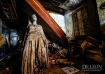 Papier-mch figure of Harriet Tubman in an abandoned wax museum in New Orleans after the levees broke Photo by Santos De Leon
