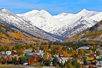 Paradise Divide in the fall above Crested Butte CO by Chris Segal