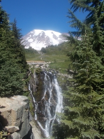 Paradise Mt Rainier Washington by Me