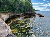 Paradise Point - Lake Superior - Michigan X