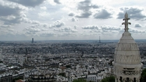 Paris as seen from Sacre Coeur