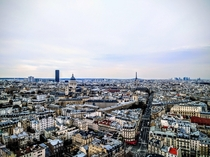 Paris France from Universit Pierre et Marie Curies Tour Zamansky