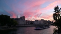 Paris France yesterday night