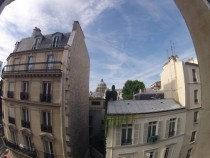 Paris from my hotel room Not sure what imgur butchered it to but the resolution was x