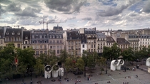 Paris from Pompidou