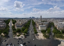 Paris from the Arc