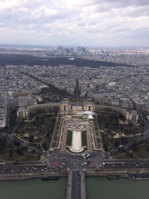 Paris from the Eiffel Tower -
