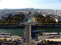 Paris looking towards La Dfense