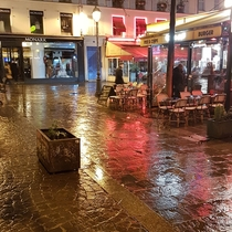 Paris right after the rain