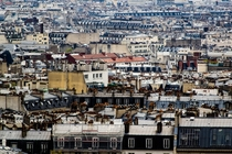 Paris Rooftops from Montmarte