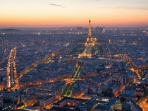 Paris viewed from the Montparnasse Tower Brian Hammonds