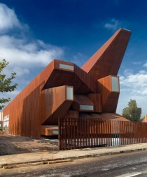 Parish Church of Santa Monica - MadridSpain - Vicens amp Ramos
