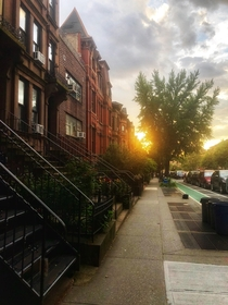 Park Slope Brooklyn - Sunset
