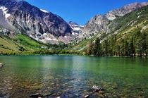 Parker Lake beautiful mountain area off of CA-