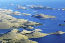 Part of Kornati Islands in Croatia mediterranean unspoiled beauty