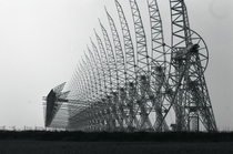 Part of the Northern Cross Radio Telescope at the Medicina Radio Observatory