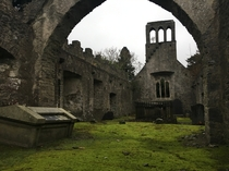 Part Two Ruined Church in Ireland Interior  x