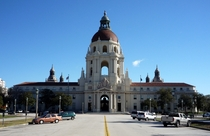 Pasadena California City Hall built