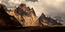 Passu Cathedral Spires Pakistan  By Doug Kofsky