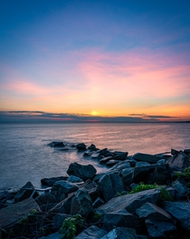 Pastel Sunset at Gateway National Recreation Area Sandy Hook NJ