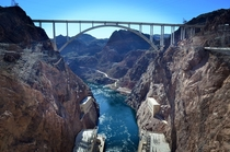 Pat Tillman Memorial BridgeHoover Dam - ArizonaNevada