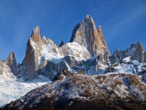 Patagonias logo in real life Mount Fitz Roy El Chaltn Argentina