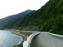 Patapat Viaduct at the northernmost tip of Luzon