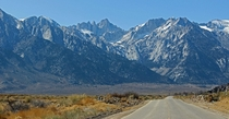 Path to Mt Whitney from Lone Pine CA  OC